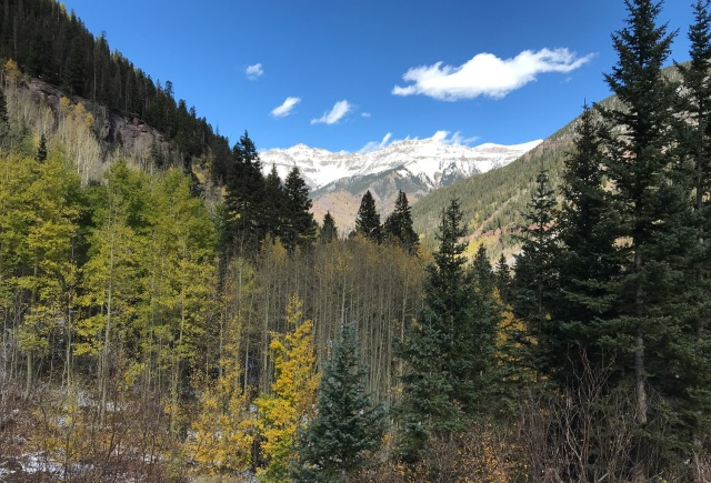 Mountains in Telluride, CO